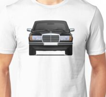Mercedes-Benz W123 black illustration Unisex T-Shirt