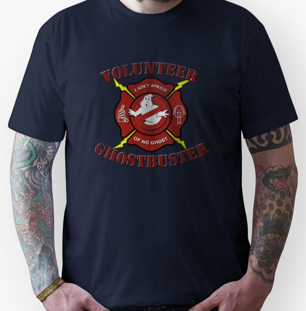 Volunteer Ghostbusters Unisex T-Shirt