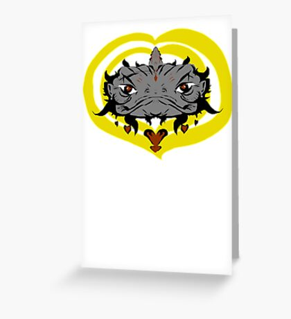 Elder Frog Greeting Card