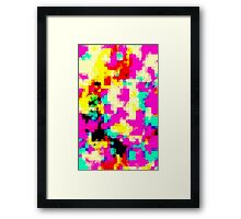 PixelatedWorld Framed Print