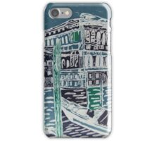 Retro gondalas in Venice iPhone Case/Skin