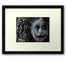 Bad Joke Framed Print