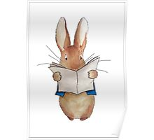 Peter Rabbit - Ink Poster
