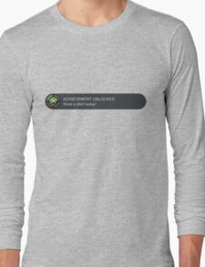 Xbox Achievement Unlocked Long Sleeve T-Shirt