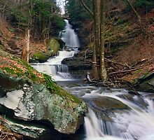 Downstream From Ozone Falls by Gene Walls