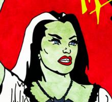Viva Los Monstruos Sticker