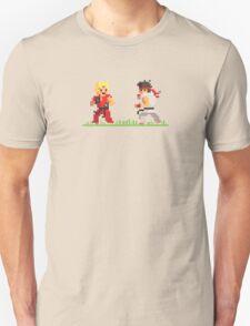 "Pixel Fighter ""Ken vs Ryu"" T-Shirt"