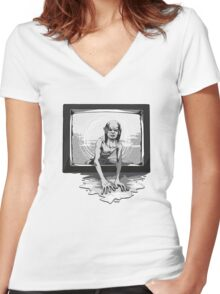 Lord of the Ring Women's Fitted V-Neck T-Shirt