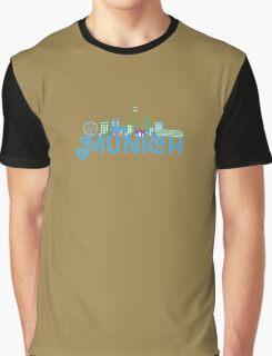 Skyline munich Graphic T-Shirt