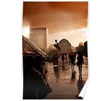 Rain in Birmingham Poster