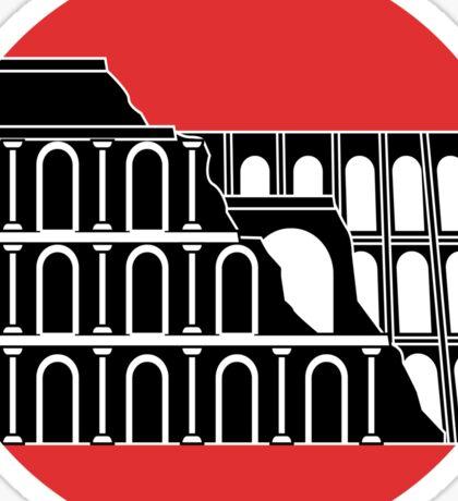 Roma Coliseum Sticker