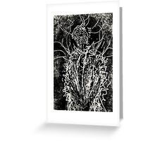 144 Portraits of Baudelaire: poe_T_ransfer 023 Greeting Card