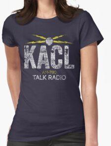 KACL AM-780 Talk Radio Womens Fitted T-Shirt