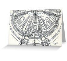 iPad case, Ipad deflector. mafra convent dome Greeting Card