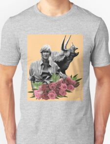Ellie // Triceratops - Woman Inherits The Earth Unisex T-Shirt