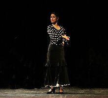 Toca Flamenco Black swipe by bedoubleyou