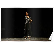 Toca Flamenco Black swipe Poster