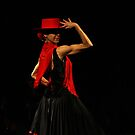 Toca Flamenco Red Hat by bedoubleyou