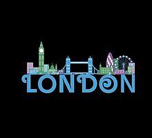 London Skyline by ilovecotton