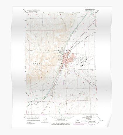 USGS Topo Map Washington State WA Ephrata 241085 1956 24000 Poster