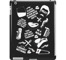 Ron Swanson Fanboy/Fangirl iPad Case/Skin