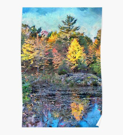 Fall Colours 1 - painted Poster