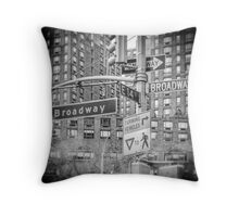 Looking for Broadway Throw Pillow