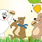 BEAR PICNIC  by Cool Designs