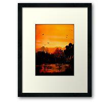 Copper Sky... Framed Print