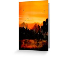 Copper Sky... Greeting Card