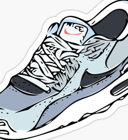 NIKE AIRMAX ON BLAND BACKGROUND Sticker