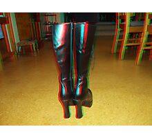 3D boots  Photographic Print