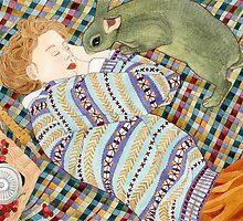Picnic With Bunny by Yuliya Art