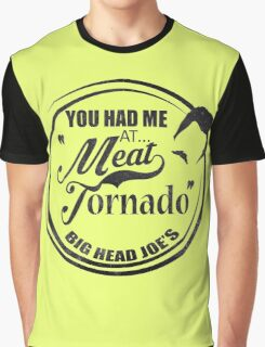 Ron swanson , Meat tornado Graphic T-Shirt