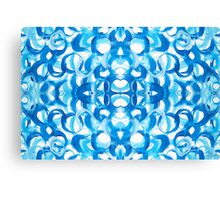 Blue Circles Canvas Print
