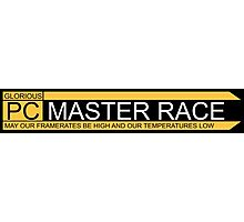 Glorious pc master race banner Photographic Print