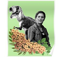 Sarah // T Rex - Woman Inherits The Earth Poster