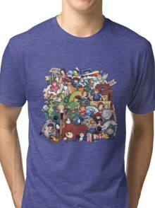 StudioGhibli Tri-blend T-Shirt