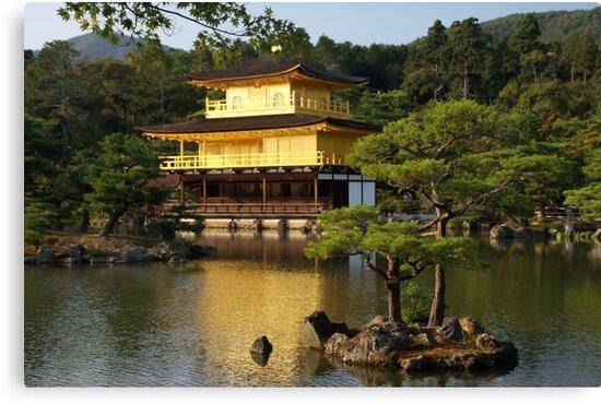 Kinkaku-ji by Cathie Tranent