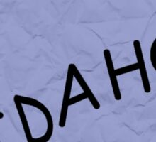 IDAHO - The Simpsons Sticker