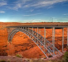 Glen Canyon Bridge by Sue  Cullumber