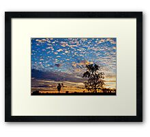 Warrumbungle Sunset #1 Framed Print