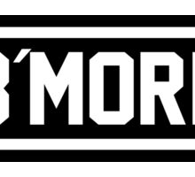 B More Sticker