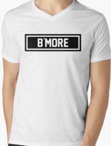 B More Mens V-Neck T-Shirt