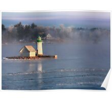 Sunken Rock Lighthouse Poster