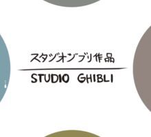 StudioGhibli Pins Sticker