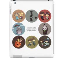 StudioGhibli Pins iPad Case/Skin