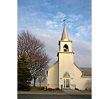 Springdale Lutheran Church Photographic Print