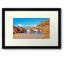 Booti Booti Sunset Framed Print