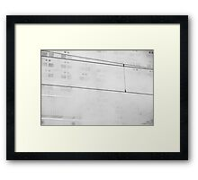 highrise 4 Framed Print